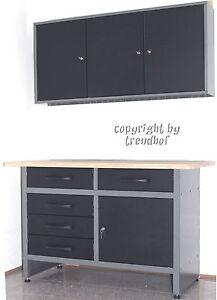 werkstatt feilbank werkplatz werktisch werkstatt schrank werkzeugschrank metall. Black Bedroom Furniture Sets. Home Design Ideas
