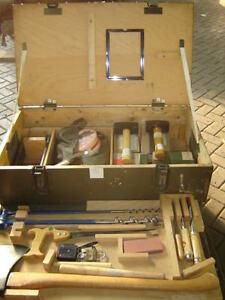 werkzeug axt iltis hammer beitel s ge werkzeugsatz holzbearbeitung bundeswehr bw ebay. Black Bedroom Furniture Sets. Home Design Ideas