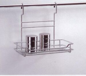 Wesco-Relingsystem-Reling-System-Kuechenreling-Leiste-Regal-Kueche-Wand-fuer-Rohr
