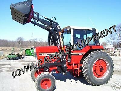 Westendorf TA 26 Quick Attach Front End Loader, Farmall on
