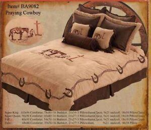Praying Cowboy Bed Set