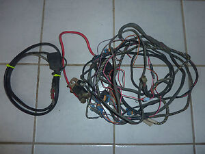 western unimount snow plow complete wiring harness ebay