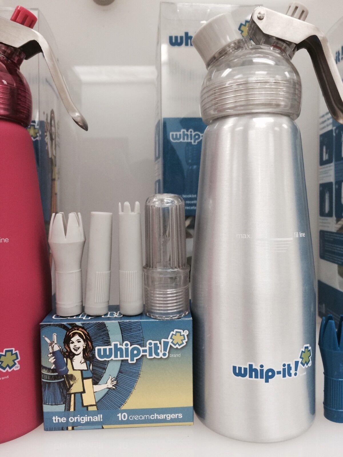 Whip It Dispenser ~ Whip it rubber cream dispenser whipper ml free ship