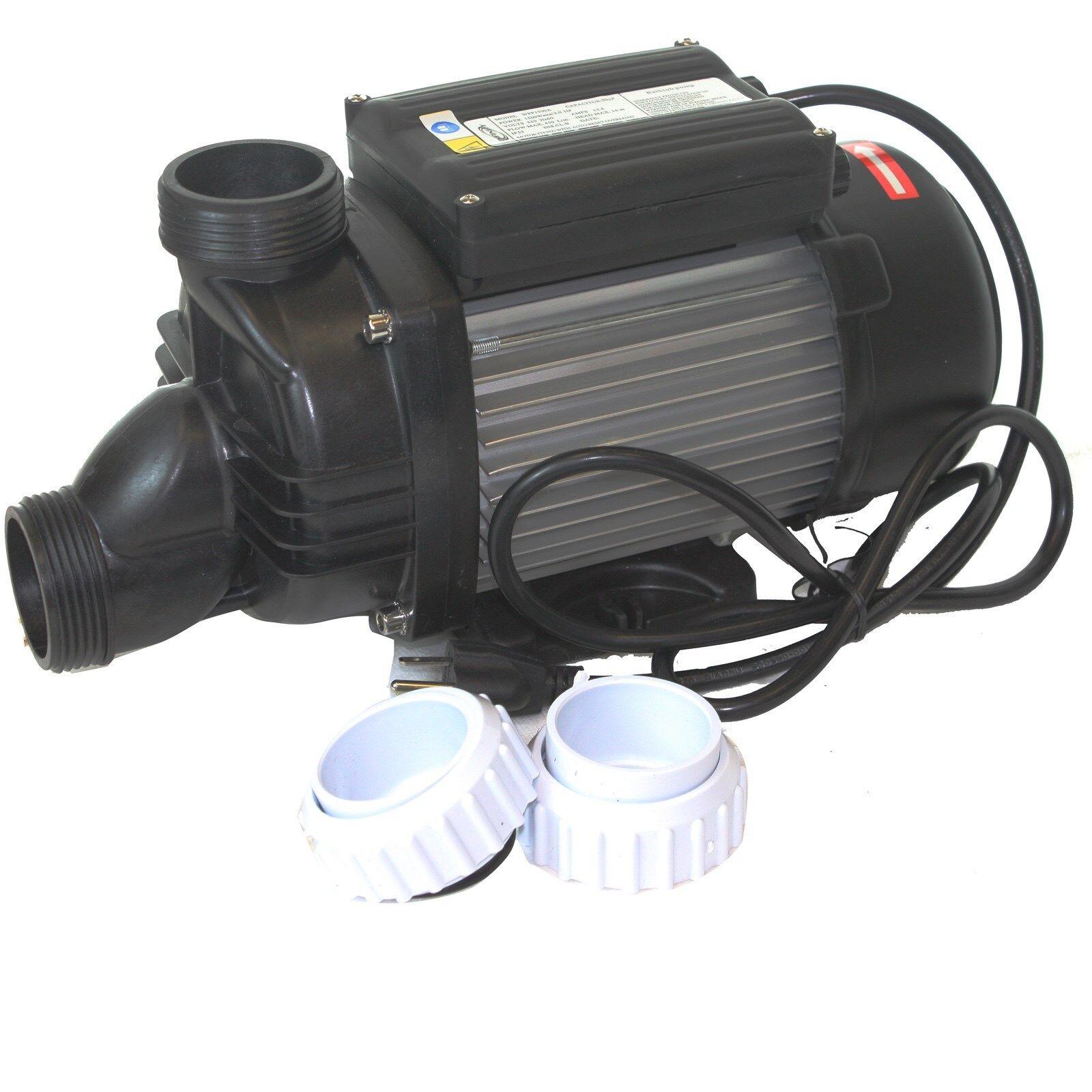 Whirlpool Bath Tub Spa Pump 2hp 1500w 110v Bathtub 7020gph Water Pump Ebay