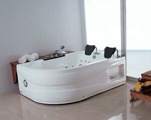 whirlpool f r 2 personen badewanne whirlwanne eckwanne. Black Bedroom Furniture Sets. Home Design Ideas