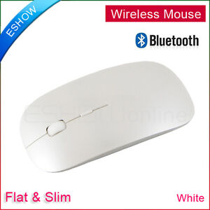 White-Bluetooth-Mouse-Slim-Flat-Wireless-3D-Optical-Mouse-for-Windows-7-Mac