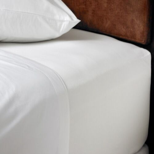 Cream Extra Deep 16 Fitted Sheet Super King Size