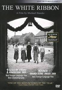 The White Ribbon (DVD, 2010)