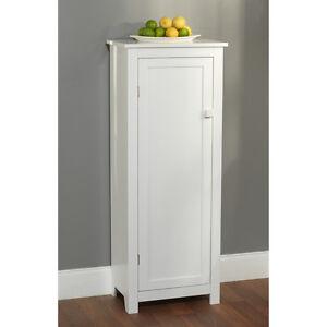 Kitchen Pantry Ideas on Kitchen Pantry Cabinets On White Wood Pantry Kitchen Cabinet Food
