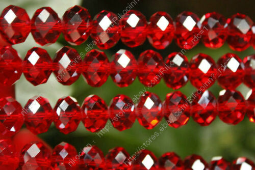 Wholesale 6 - 12mm Faceted Red Swarovski Crystal Gem Loose Beads in Crafts, Beads & Jewelry Making, Beads, Pearls & Charms | eBay