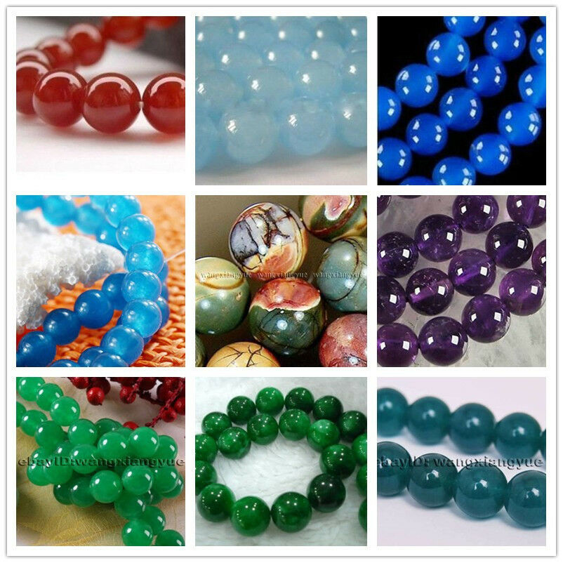 "Wholesale Apatite//Rubis//Aquamarine//SAPHIR//Gemstone Round Loose Beads 15/""//6-14mm"