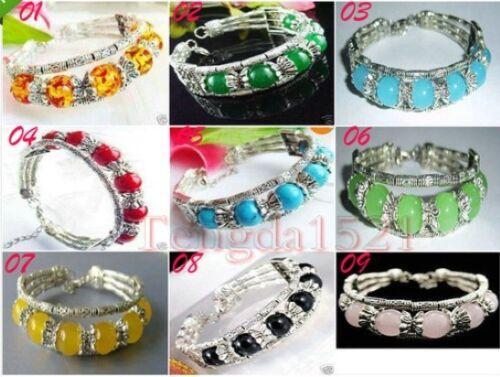 Wholesale Beautiful Tibetan Multicolor Gemstone Beads Tibet Silver Bracelet in Jewelry & Watches, Ethnic, Regional & Tribal, Asian & East Indian | eBay