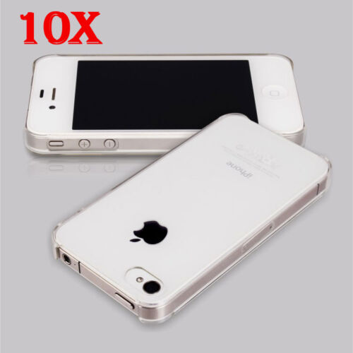 Wholesale Lots 10 Ultra Thin Crystal Clear Snap On Hard Case For iPhone 4S 4G 4 in Cell Phones & Accessories, Cell Phone Accessories, Cases, Covers & Skins | eBay