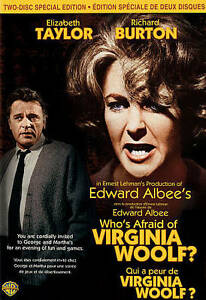 Who's Afraid of Virginia Woolf? (DVD, Ca...