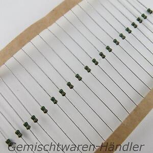 Widerstaende-Metallfilm-0-4W-1K-Ohm-bis-10M-1-0-4-W-0-25-1-4-Widerstand