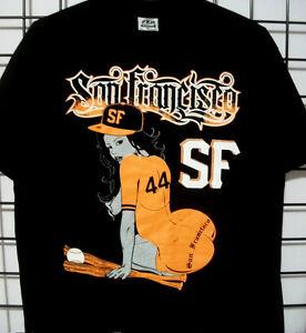 Wifey Hot Chick Tattoo Graffiti Art T Shirt Black SF San Francisco