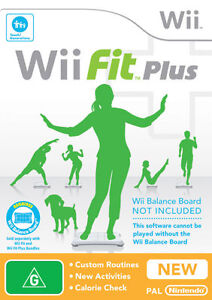 Wii-FIT-PLUS-GAME-ONLY-Brand-New-Sealed-No-Board-or-Nintendo-Console