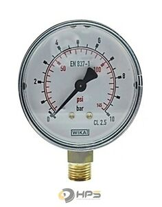 Manometer 010 bar