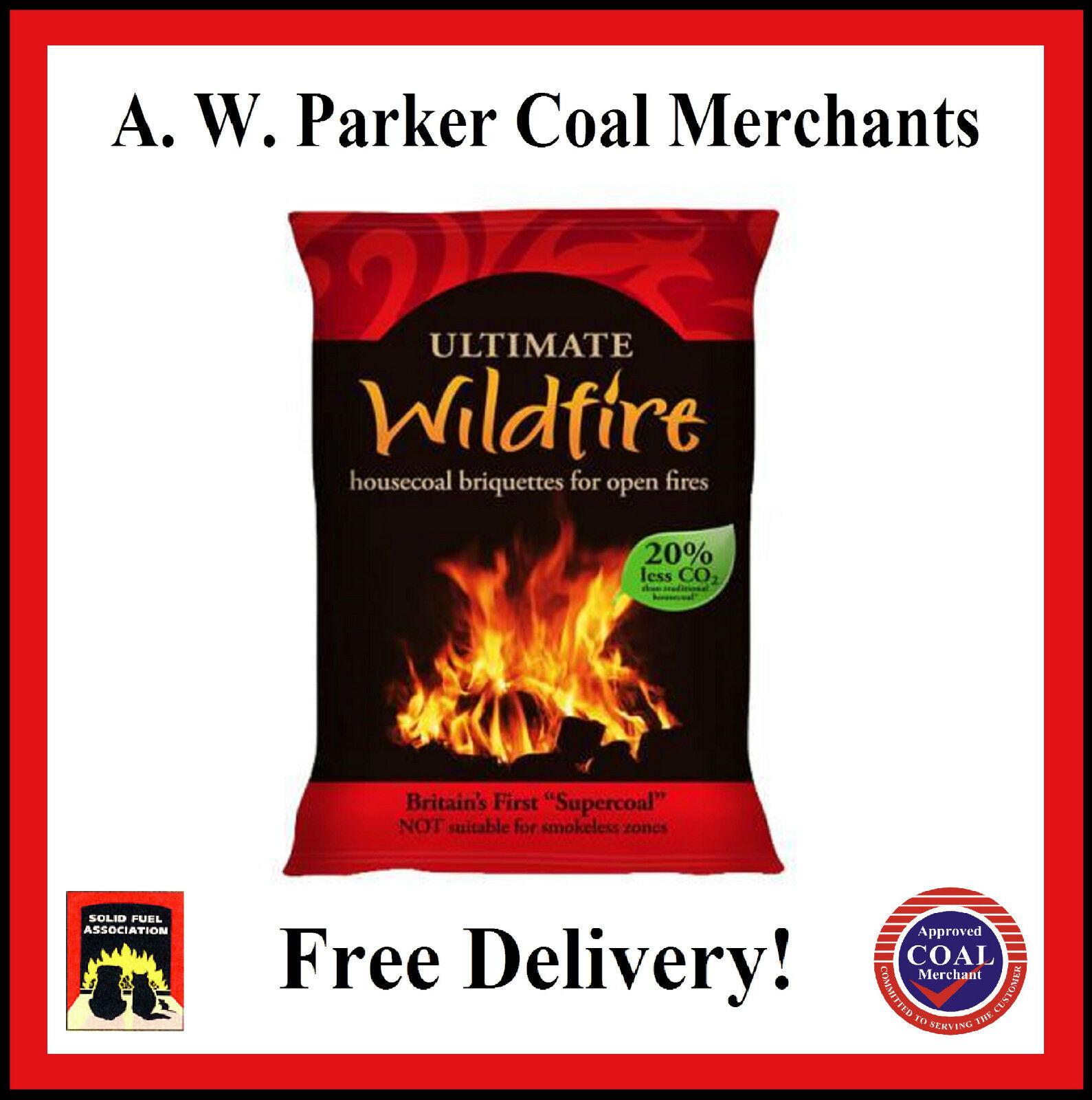 Wildfire House Coal Briquette 1 Tonne