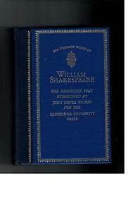 William-Shakespeare-The-Comlete-Works-1982