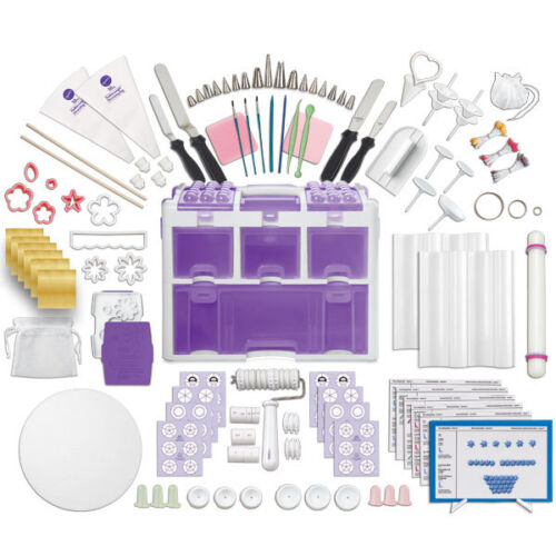 Wilton ULTIMATE PROFESSIONAL Cake Decorating Set 177 Pieces Set Caddy Tools Tool in Home & Garden, Kitchen, Dining & Bar, Cake, Candy & Pastry Tools | eBay