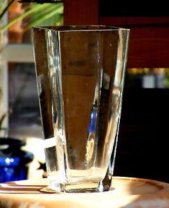 windlicht glaskelch quadratisch vase tischdeko glas 30 cm ebay. Black Bedroom Furniture Sets. Home Design Ideas