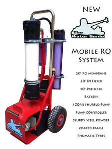 Window cleaning trolley mobile ro reverse osmosis 20 ebay for 20 20 window cleaning mashpee ma