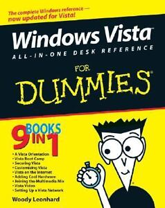 Windows Vista All-in-One Desk Reference ...