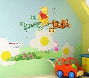 zu Winnie Pooh XXL Wandtattoo Wandsticker Wandaufkleber Kinderzimmer ...