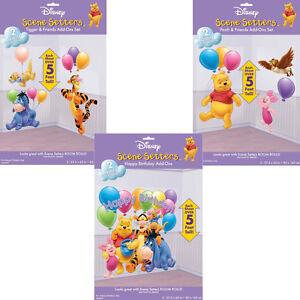 Winnie puuh wanddekoration wanddeko winnie the pooh poster kindergebrtstag deko ebay - Winnie pooh deko ...