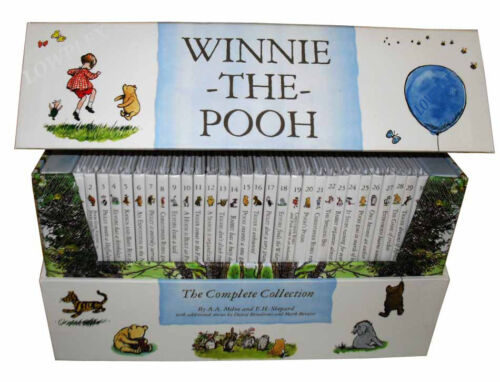 Winnie-the-Pooh-Complete-Collection-30-Books-Box-Set-Kanga-and-Baby-Roo-Come-to