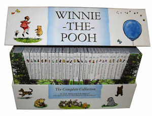 Winnie the Pooh Complete Collection 30 Books Box Set, Kanga and Baby Roo Come to