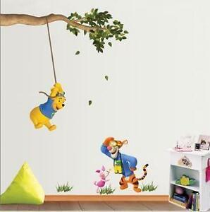 Winnie The Pooh And Tigger Nursery Decor Wall Stickers EBay