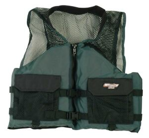 Winning Edge Comfort Series Fishing Life Jacket PFD Vest 4XL in Sporting Goods, Water Sports, Swimwear & Safety | eBay