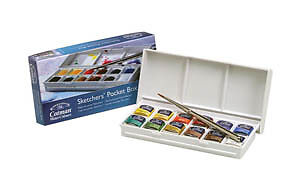Winsor-Newton-Cotman-Watercolour-Sketchers-Pocket-Box-Set