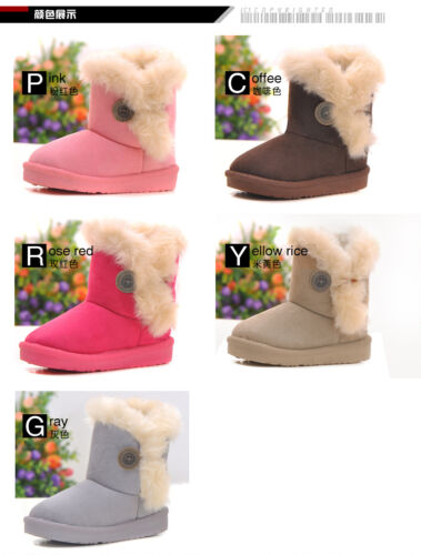 Winter Warm Kid's Girls Snow Ankle Boots Cotton Childrens Shoes New Trend Pretty in Clothing, Shoes & Accessories, Kids' Clothing, Shoes & Accs, Girls' Shoes | eBay