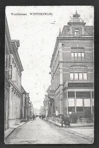 Winterswijk-Wooldstraat-Hotel-de-Klok-People-Gelderland-Netherlands-ca-1910