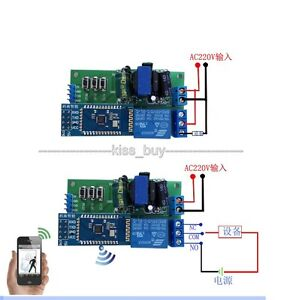 wireless bluetooth relais module android mobile remote. Black Bedroom Furniture Sets. Home Design Ideas