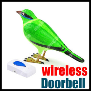 Wireless-Home-Lark-Bird-Remote-Control-Chime-Doorbell