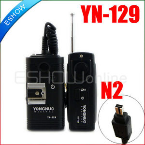 Wireless-Remote-Control-YONGNU0-YN-129-Shutter-For-N2-Nikon-D80-D70S