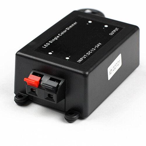 controller rf dimmer for 5050 3528 single color led strip light ebay. Black Bedroom Furniture Sets. Home Design Ideas