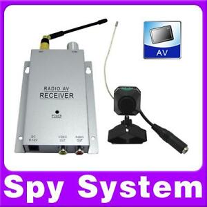 Wireless-Spy-Nanny-Mini-Micro-color-Camera-FULL-SYSTEM