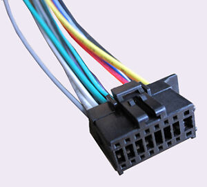 wiring harness fits pioneer deh 6500bt deh x65bt dxt 2569ui fh x700bt c2 ebay