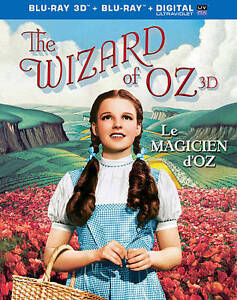 The Wizard of Oz (Blu-ray Disc, 2009, 4-...