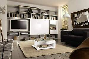 wohnwand now time by h lsta schrank neu regal mit rechnung ebay. Black Bedroom Furniture Sets. Home Design Ideas
