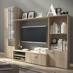 wohnwand wohnzimmer set m bel anbauwand arthur wohnw nde. Black Bedroom Furniture Sets. Home Design Ideas