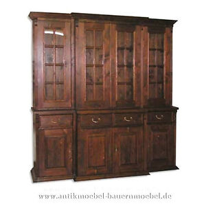 wohnzimmerschrank b cherschrank schrank massiv. Black Bedroom Furniture Sets. Home Design Ideas