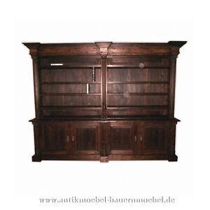 wohnzimmerschrank buffetschrank b cherwand landhausstil. Black Bedroom Furniture Sets. Home Design Ideas