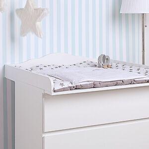 wolke 4 wickelaufsatz f r ikea malm kommode neu wei ebay. Black Bedroom Furniture Sets. Home Design Ideas