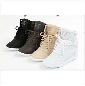 high top sneakers tennis shoes ankle boots black